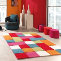 UN AMOUR DE TAPIS - Tapis de Salon Moderne Design KIDS CARREAUX