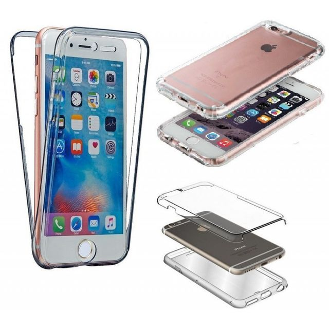 coque etui silicone gel integrale 360 protection pour apple iphone 4 4s