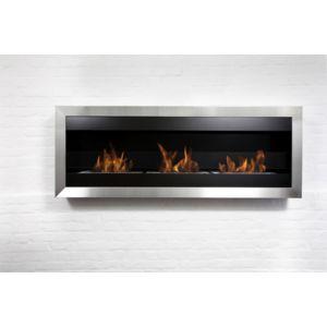 bio blaze grande chemin e bio thanol design inox noire. Black Bedroom Furniture Sets. Home Design Ideas