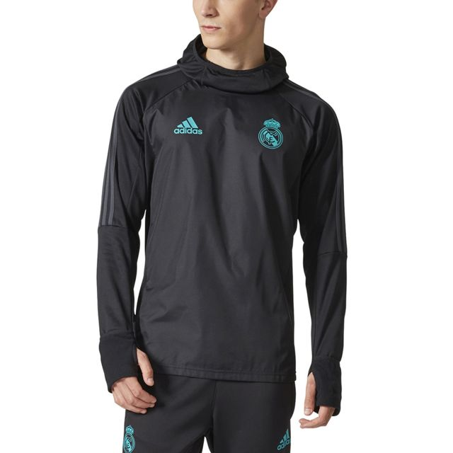 Adidas performance - veste   Coupe-vent Real Madrid Warm Top - pas ... 901bf5e58fb