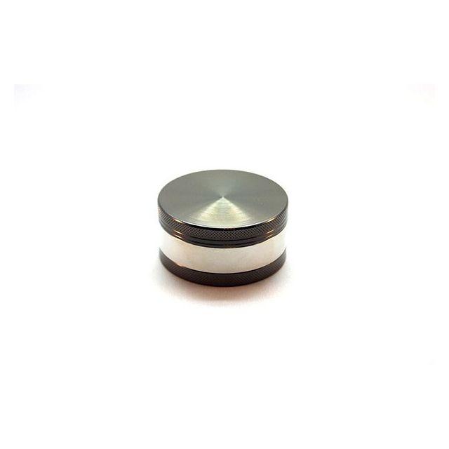 Smoke Pas Cher Grinder 3 parts anodisé diamètre 63 mm alu / noir