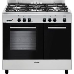 glem piano de cuisson ga96pcgix achat vente cuisini re gaz pas cher rueducommerce. Black Bedroom Furniture Sets. Home Design Ideas