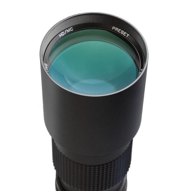Oting Téléobjectif 500mm F 1:8 pour Sony Alpha