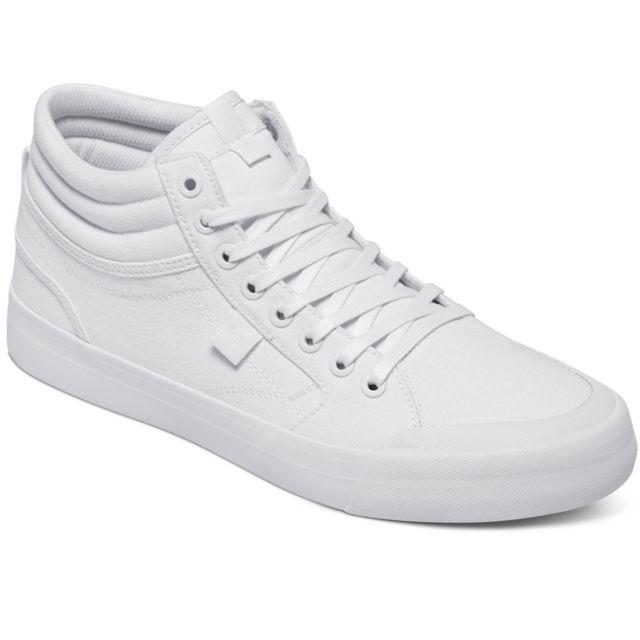 Evan Homme Smith Hi Dc Blanc Taille 44 Tx Chaussure Shoes sCQrBohxtd