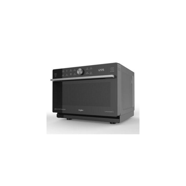 whirlpool micro ondes posables combin supreme chef 33l crisp vapeur 6eme s achat four. Black Bedroom Furniture Sets. Home Design Ideas
