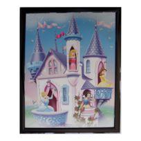 Marque Generique - Tableau Princesse 20 x 25 cm Disney cadre enfant fille