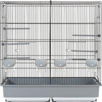 Zolux - Cage Family 10 noir/gris