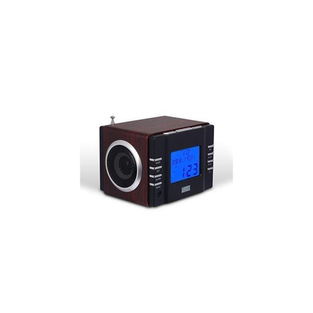 Divers Radio réveil lecteur Mp3Radio Fm, lecteur de carte