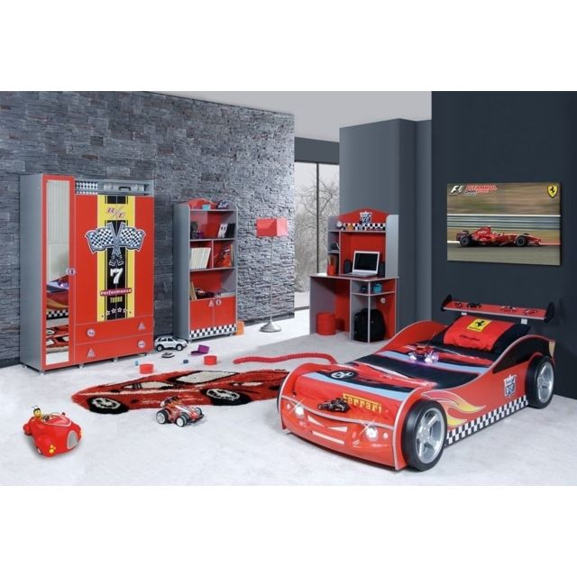 Homense - Chambre Enfant Rally Complete Rouge - pas cher Achat ...