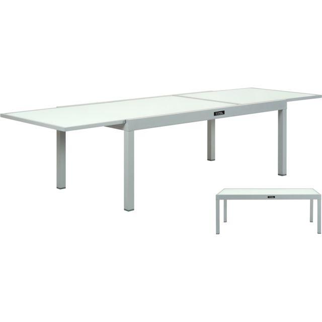 Table Aluminium Porto Ph Extensible Jardin 12 De mN80vwn