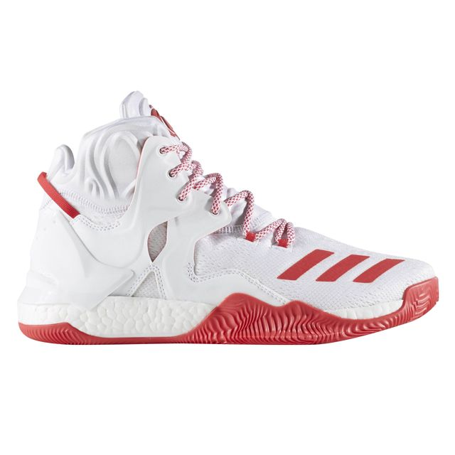 587c561f16 Adidas performance - Chaussures basketball Adidas Derrick Rose 7 Blanc