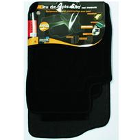 Topcar - 3 Tapis de sol semi-mesure pour Citroen Xsara Picasso, noirs pour fixations d'origine attaches non fournies Arcoll 019556