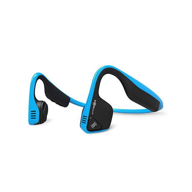 Aftershokz Écouteurs sans fil Trekz Titanium Bluetooth bleu