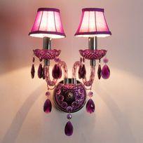 Muno - Applique double baroque en acrylique et tissu Romeo