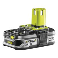Ryobi - Batterie lithium 18 volts 2.5 ah Rb18L25G, compatible gamme One