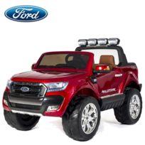 Ford - 4X4 Voiture électrique enfant Ranger écran Lcd Edition 2018 Pack luxe 2 places rouge 2X12 volts