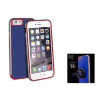 Uniq - AirCraft Plus'' iPhone 6 + support magnétique - Bleu et rouge