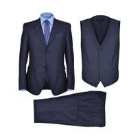 Rocambolesk - Superbe Smoking 3 pièces pour homme bleu marine taille 52 Neuf