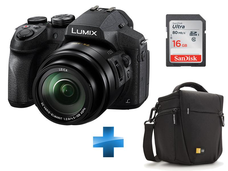 Pack Expert FZ300 + Housse case Logic TBC406K + Carte SD 16Go