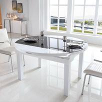 Meubler Design - Table à manger extensible ronde Maxim