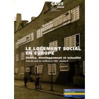 Caue Du Rhone - le logement social en europe t.2