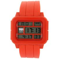 Montres Sport Homme - Montre Homme Sport Tendance Silicone Rouge 2390