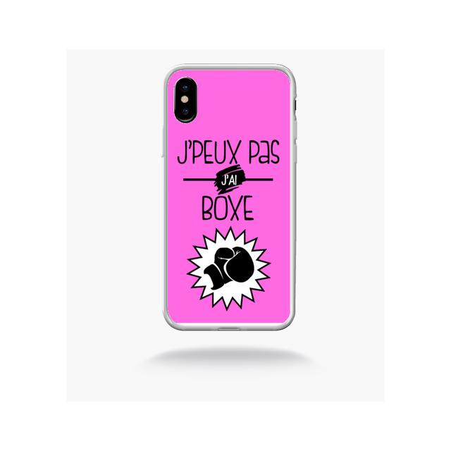 iphone x coque boxe