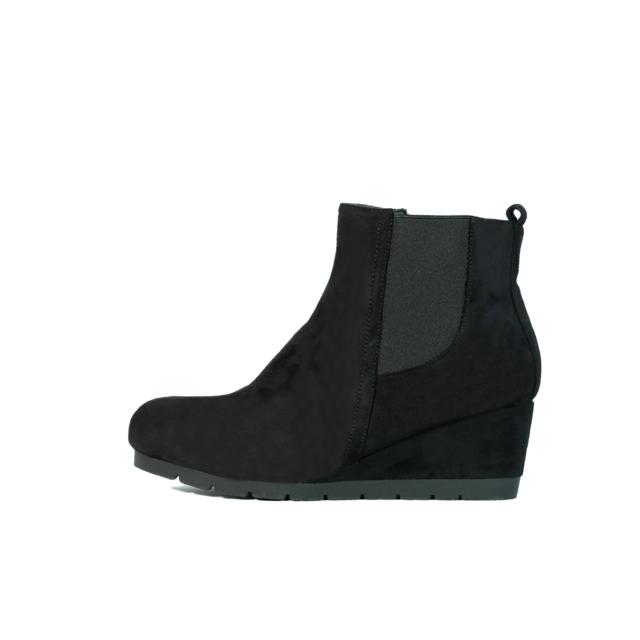 4459d0e60f437a Buzzao - Bottines compensées noir Elissa - pas cher Achat / Vente ...