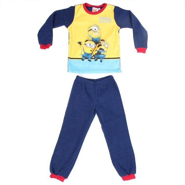 9fb7a0d69eb52 Les Minions - Pyjama Polaire Minions - pas cher Achat   Vente Pyjamas -  RueDuCommerce