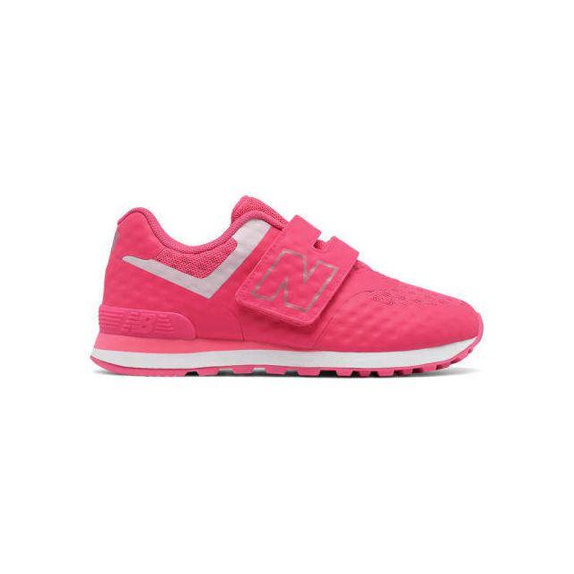 1ce53f8ecab8c Kv Cher Gris New Balance Enfant Pas Achat Chaussures Rose 574 f8RBq