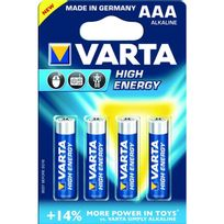Varta - lot de 4 piles type lr3 1.5 volts - 4903/414