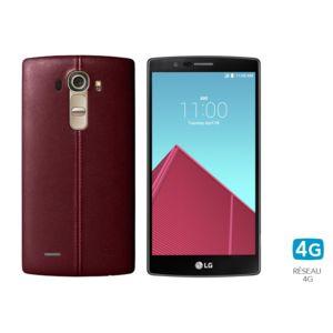 destockage lg g4 cuir rouge pas cher achat vente smartphone rueducommerce. Black Bedroom Furniture Sets. Home Design Ideas