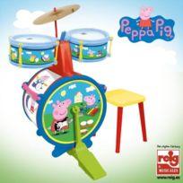Reef - Peppa Pig Batterie avec Tabouret
