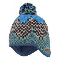 Barts - Bonnet jacquard à pompon vert beige bleu bébé garçon du 1 au 3 ans 2eec5f17961