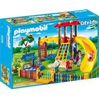 PLAYMOBIL - Square pour enfants avec jeux - 5568