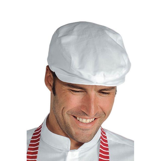 0ad253130b4b9 Beret blanc homme - catalogue 2019 - [RueDuCommerce - Carrefour]