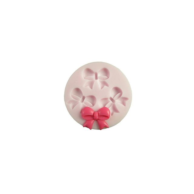 Alpexe Moule de Cuisson Noeud Papillon 3D Pour Gâteau Pour Cookie Pour Tarte Silikon Ecologique