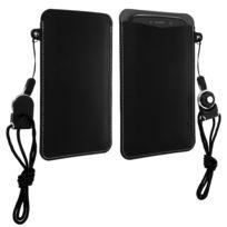 G-case - Etui smartphone taille Xl Housse pochette slim Observer Carry Noir