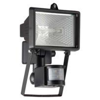 Brilliant - Tanko - Projecteur d'extérieur à fixer avec Détecteur Noir H22cm - Luminaire d'extérieur designé par