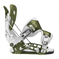 Flow - Fixations De Snowboard Nx2 White/green Homme
