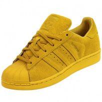 adidas superstar homme jaune