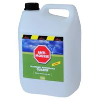 Arcane Industries - Traitement fongicide : élimine les mousses, algues et lichens Toitures, façades et terrasses Antimousse - Couleur : Liquide- Transparent - Contenance : 5L jusqu a 25m²