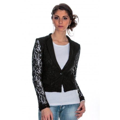 Achat Vente Cher Veste Noir Boutique Princesse Pas Dentelle A fqwU10x06