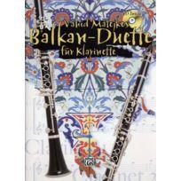 Alfred Publishing - Partitions Variété, Pop, Rock. Matejkos V Balkan-duette + Cd - Clarinette Musique Du Monde
