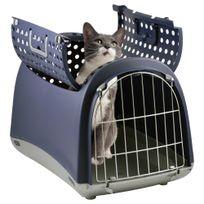 Imac - Transport Linus Cabrio pour Chien et Chat - Bleu