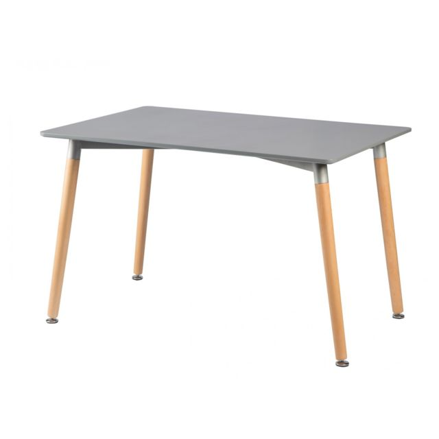 TOPDECO Table Oslo grise