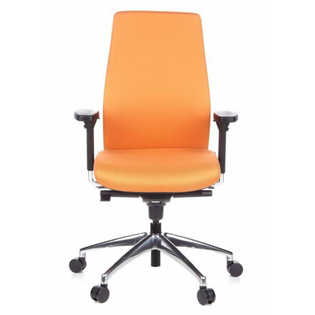 Hjh Office Siège de bureau / Fauteuil de direction Skave 200 orange