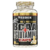 Weider Global Nutrition - Weider Bcaa + L Glutamine Muscle recovery 180