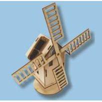 Sol Expert - Maquette Moulin solaire en bois