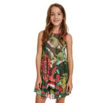 7f33588ad33 Robe verte et blanche - catalogue 2019 -  RueDuCommerce - Carrefour